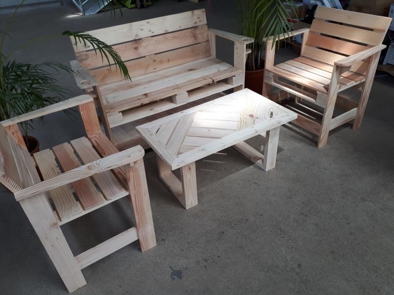 Meubles en bois de récupération