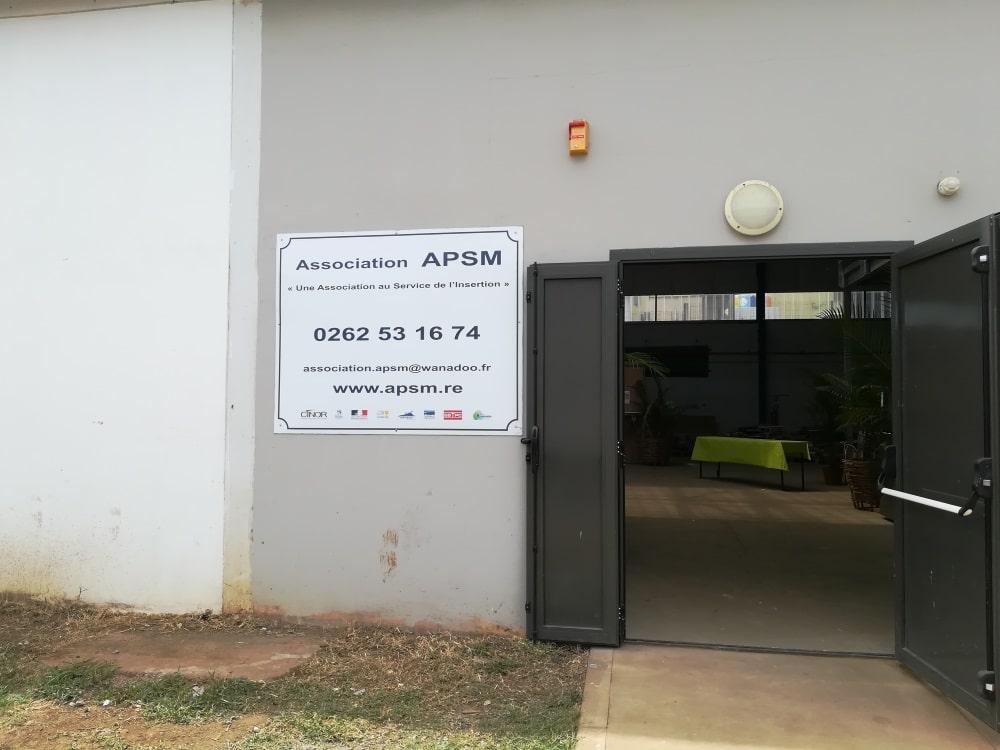 APSM - Ressourcerie Coco Robert Sainte-Marie Réunion