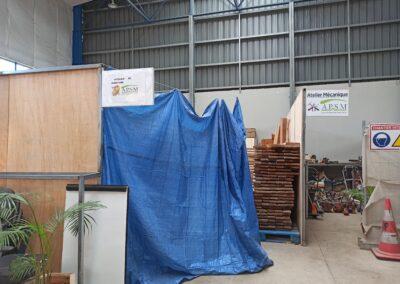 Ateliers de valorisation ressourcerie coco robert sainte-marie