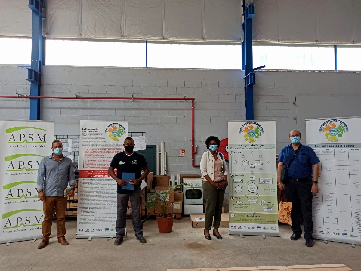 Visite Commission Environnement Développement durable CINOR 1