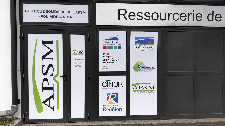 boutique solidaire apsm ressourcerie